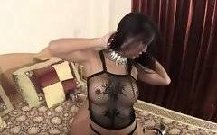 In this porn video you can see dirty ladyboy
