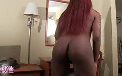 Sha Riah is a sexy black tgirl with a hot body, an amazing bubble butt and a big hard cock! Watch this sexy transgirl showing off that juicy ass for you!